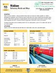 ASTM F-15 Kovar controlled expansion alloy brochure